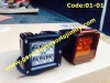 CODE:01-01  7.5cm x 8, 6 LEDS, CREE,Spot, 18W:Rp.750rb (Cover Lens/Amber not included) Cover lens:50rb