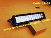 Code:01-02 LED BAR 13,5 inch, Curved, Double row,spot combo, 24 LEDS, CREE, 72W:Rp.1,750,000