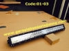CODE:01-03 LED BAR 30 inch, Curved, Double row, 60 LEDS, CREE,spot combo, 180W:Rp.4,000,000