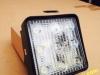 CODE:01-06 LED WORK LAMP Square (kotak) 12cmx12cm, 9 LEDS,flood 27 W: 350rb