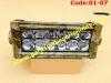 CODE:01-07 LED CAMO (loreng) 19cmx8cm, 12 LEDS, 36W. CREE,3D Lens, Spot: 1,250,000